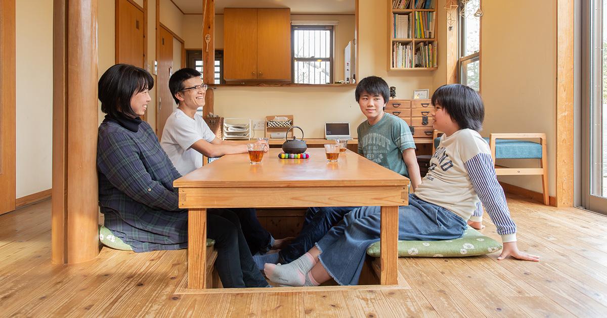 はんべ工務店様OBインタビュー「家族が真ん中。シンプルで良質な木の家づくり。」