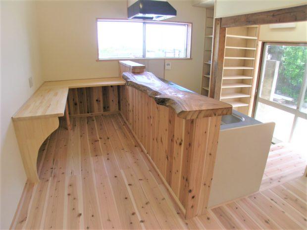 H様施工事例:対面キッチン