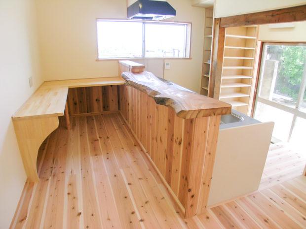 H様邸のキッチン施工事例