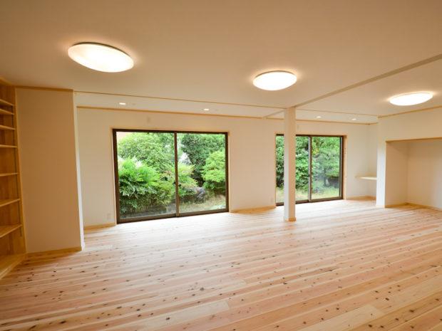 中古住宅を購入して自然素材の木の家にリノベーション