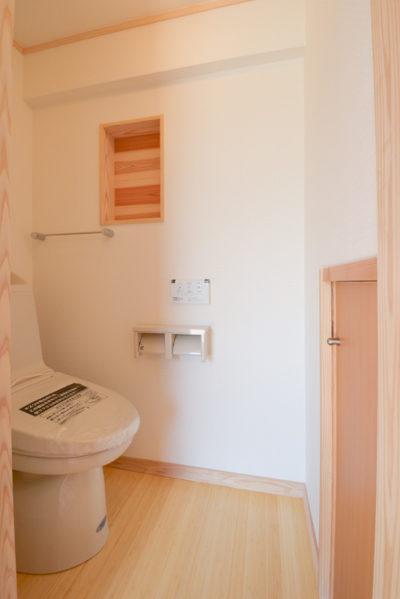 トイレの収納T様邸