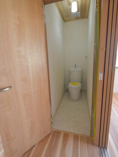 リノベーション後2階トイレ